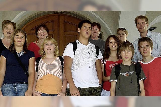 Weiler Jugendliche entdecken Trebbin