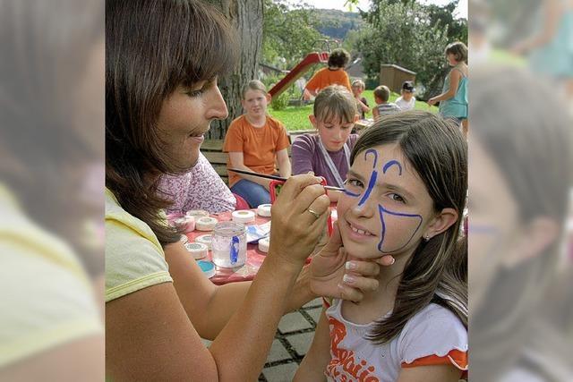 121 Kinder hatten in den Ferien ihren Spaß