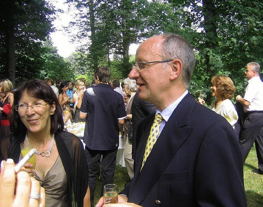 Werner Semmler hat als heutiger Eigent...nte Kulisse für eine  Fernsehhochzeit.  | Foto: Kati Wortelkamp