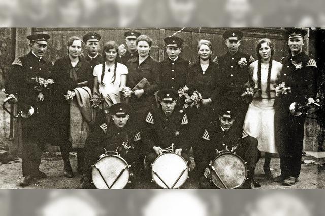 Die Musiker der Feuerwehr