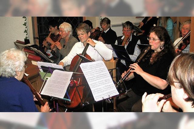 Beeindruckendes Konzert der drei Musikkreise