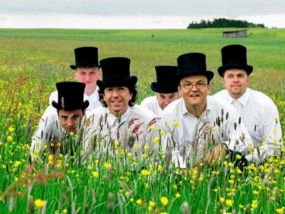 Manuel Dörflinger (3.v.l.)  und die Band Luddi.  | Foto: Privat