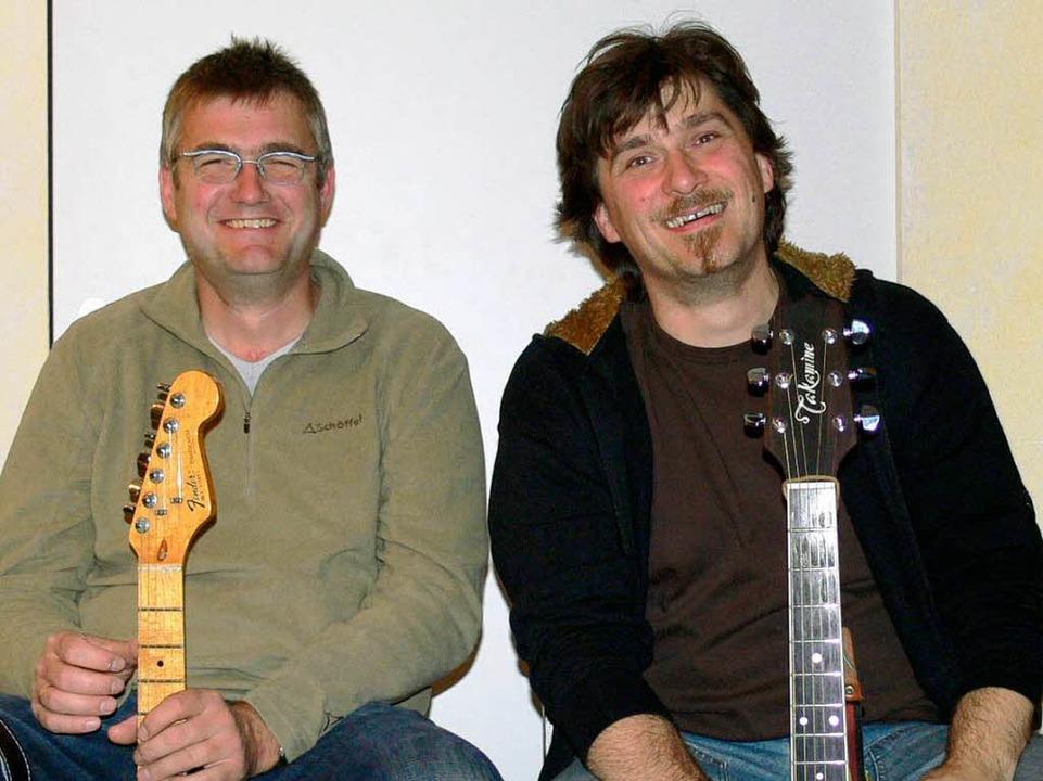 Karl David und Martin Lutz: alemannisches Gesangsduo.  | Foto: Privat