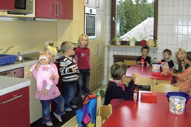 Küchenzeile für die Kleinen und Großen