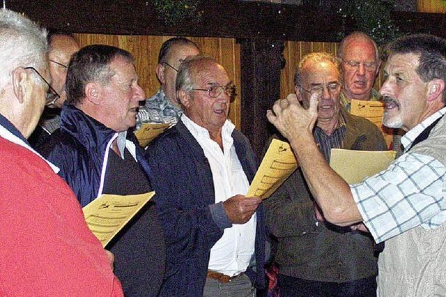 Geselligkeit und Unterhaltung bei den Sängerinnen