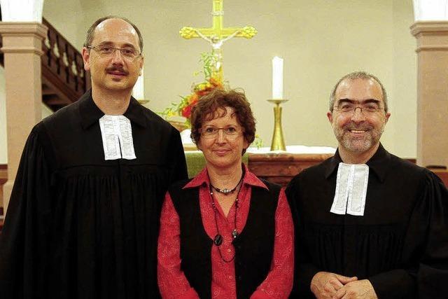 Empfang für neuen Pastor