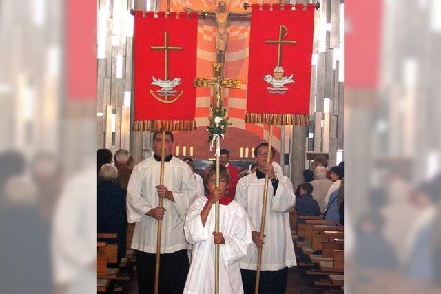 Kreuz als Zeichen der Erlösung