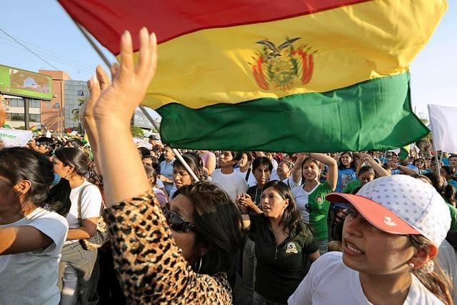 Bolivien hofft auf Gespräche