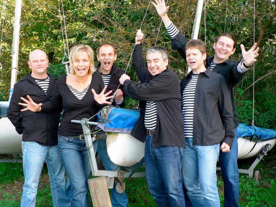 Die Rockband Fishermanns Fall spielt alemannischen Rock.  | Foto: Veranstalter