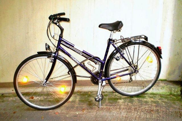 Fahrraddieb gefunden, Fahrradbesitzer gesucht
