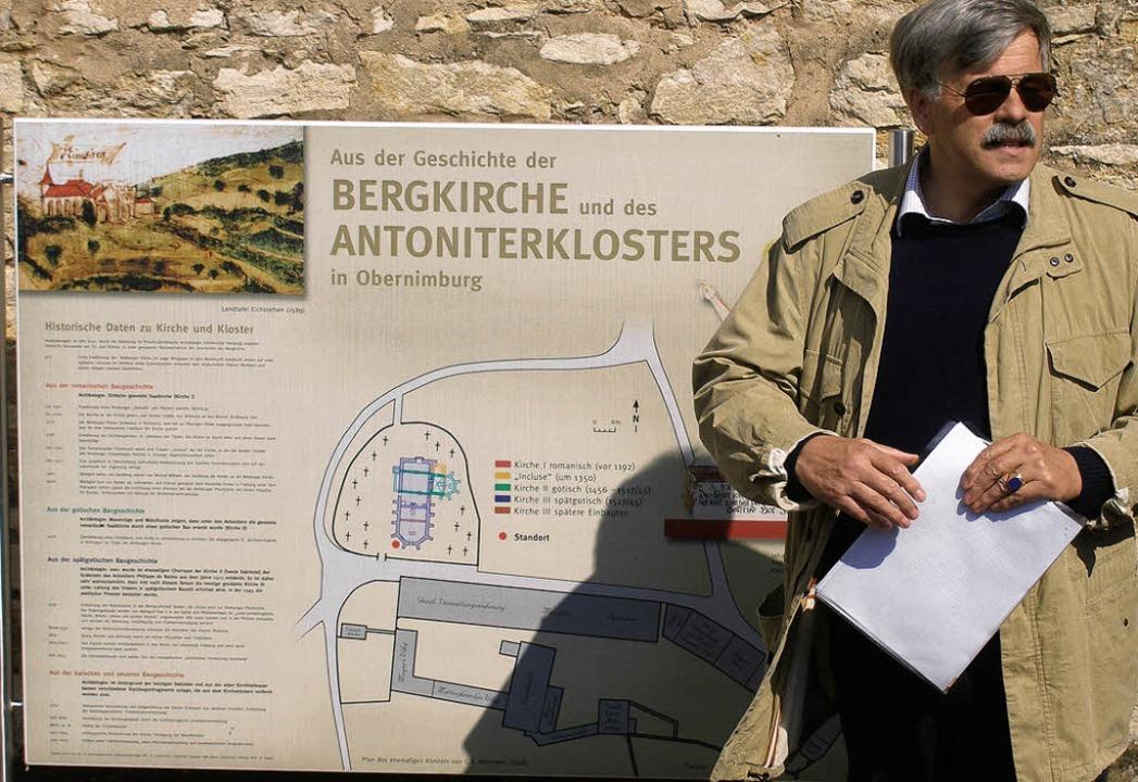 <Bildtext>Professor Hans Ulrich Nuber ...te eine Detektivgeschichte.</Bildtext>  | Foto: Karlernst Lauffer