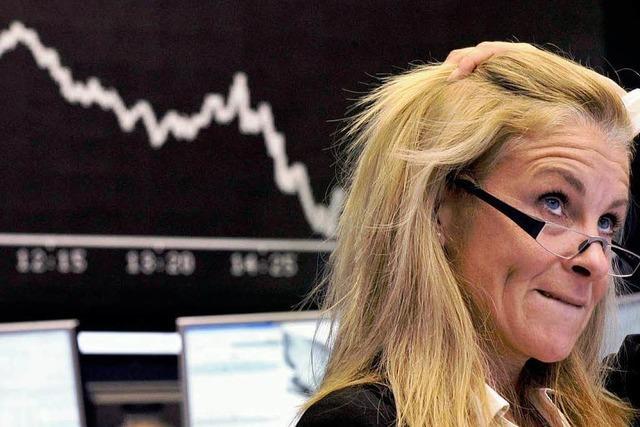 Börsenkurse sinken weiter