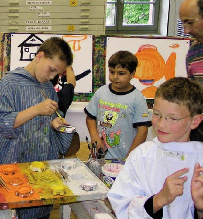 Fürs Leben lernen durch die Kunstschule.   | Foto: PR
