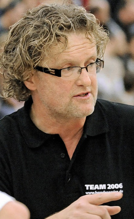 Hedos-Trainer Günther Sinz wünscht sich 26:26 Punkte am Ende der Saison.     Foto: m.heuberger (a)