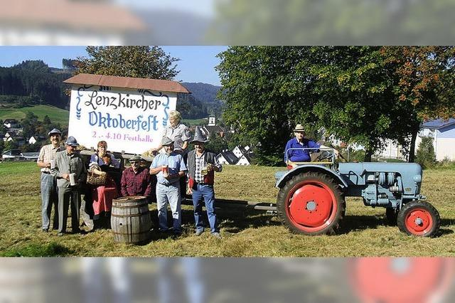 Lenzkirch feiert originell bayerisch