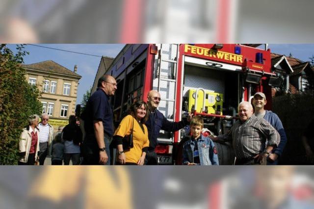 Großes Interesse an der Feuerwehr
