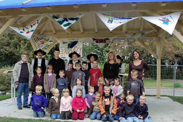 Ein neuer Pavillon für den Oberlin-Kindergarten