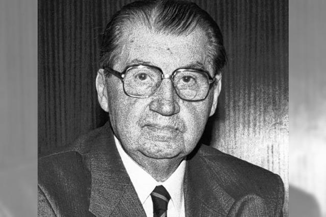 Karl Härringer ist gestorben