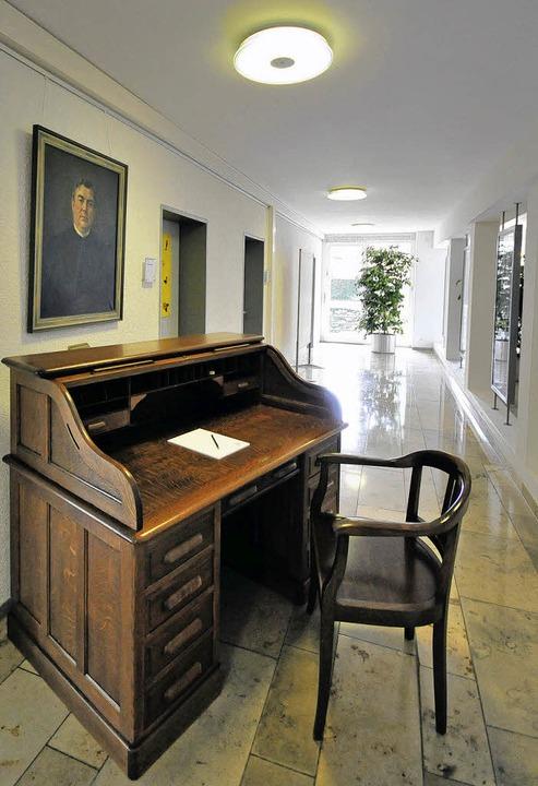Lorenz Werthmanns alter Schreibtisch  | Foto: ingo schneider
