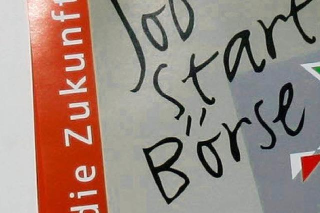 Job-Start-Börse mit Rekordbeteiligung