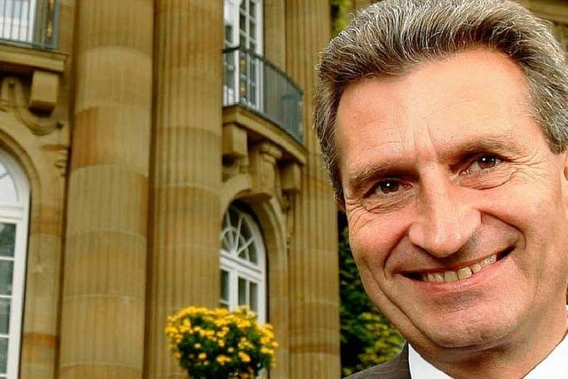 Oettinger zieht positive Bilanz