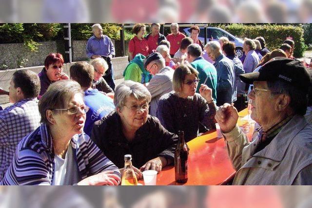 705 Wandersleut' auf Schusters Rappen unterwegs