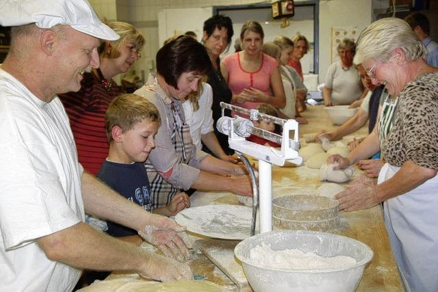 Brotbacken lernt man am besten beim Meister