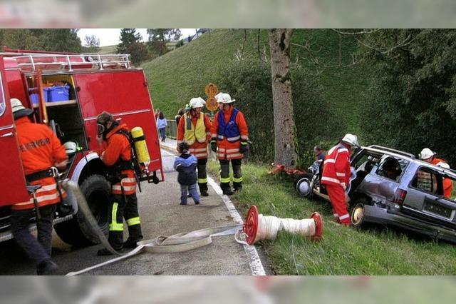 Drei Verletzte sind gerettet