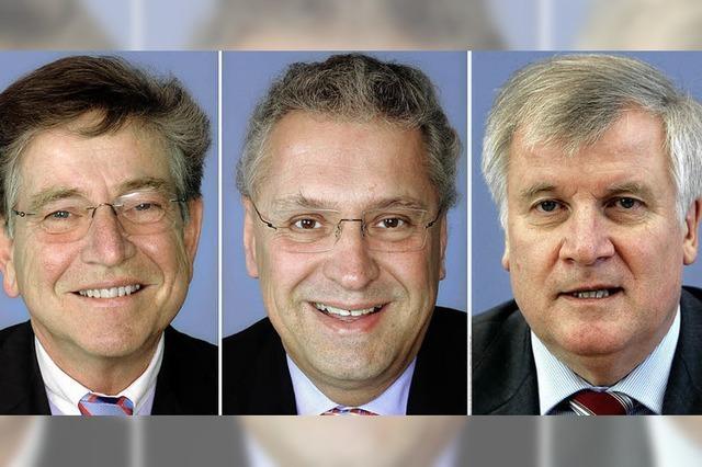 Horst Seehofer geht in Führung