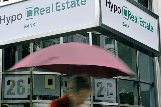 Hypo Real Estate in letzter Sekunde gerettet
