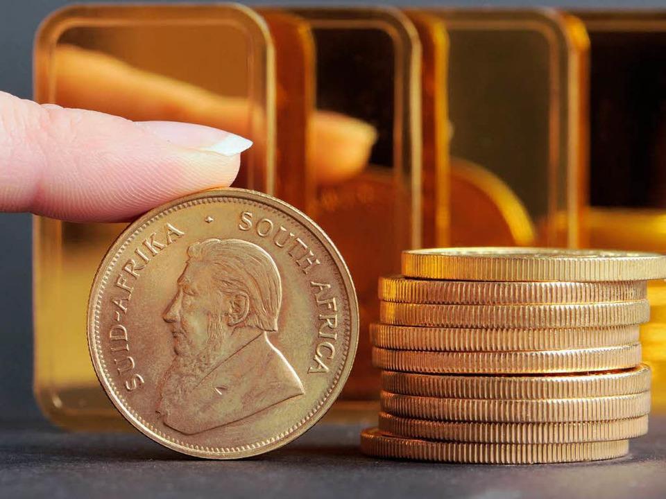 In Krisenzeiten steigt der Goldpreis.