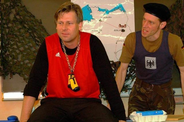 Ötlinger Schauspieler stellt eigenes Stück vor