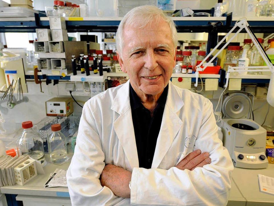 Harald zur Hausen hat den Nobelpreis für Medizin erhalten.   | Foto: ddp