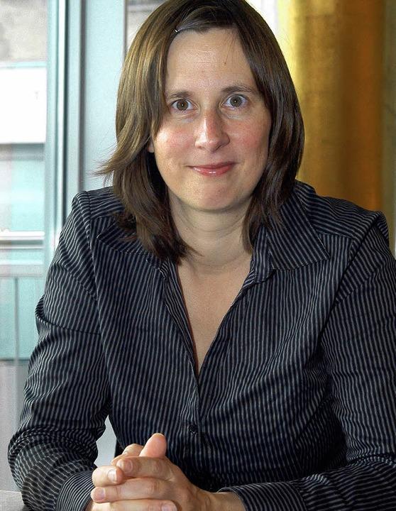 Sie schreibt, weil sie muss: Kathrin Röggla   | Foto: Thomas Kunz