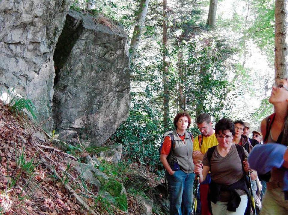 Urgraben im  Gebiet Gullerwald - Luser.  | Foto: Karin Heinze