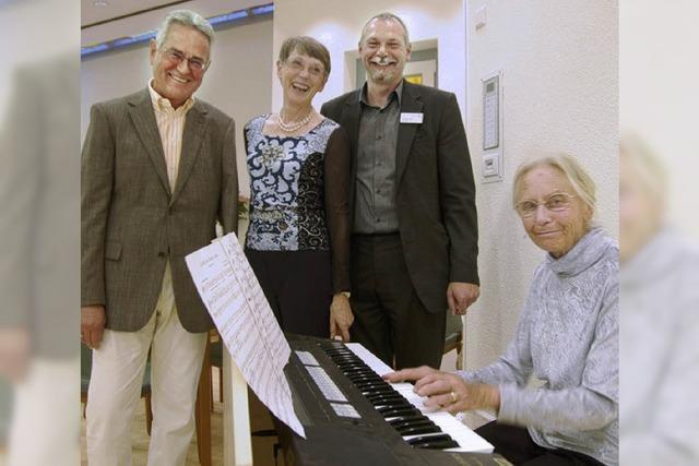 Neue Orgel fürs Pflegeheim