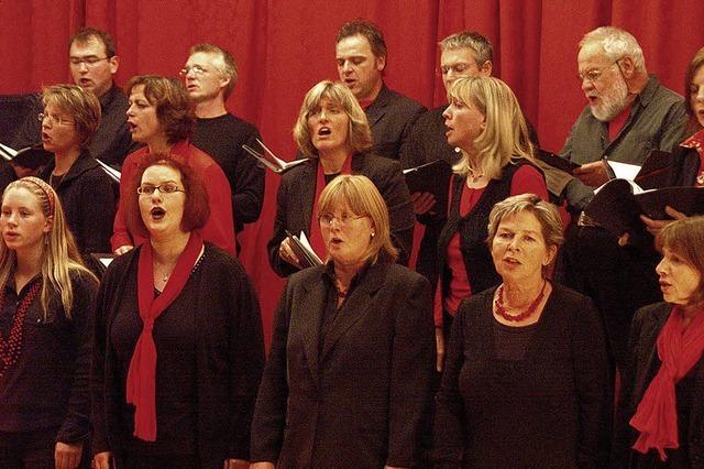 Spiritual Voices begeistern ihr Publikum