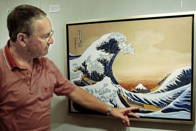 Fasziniert vom japanischen Holzschnitt