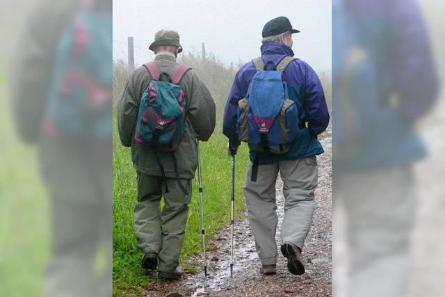 Wanderfreunde Oberschopfheim werden immer älter