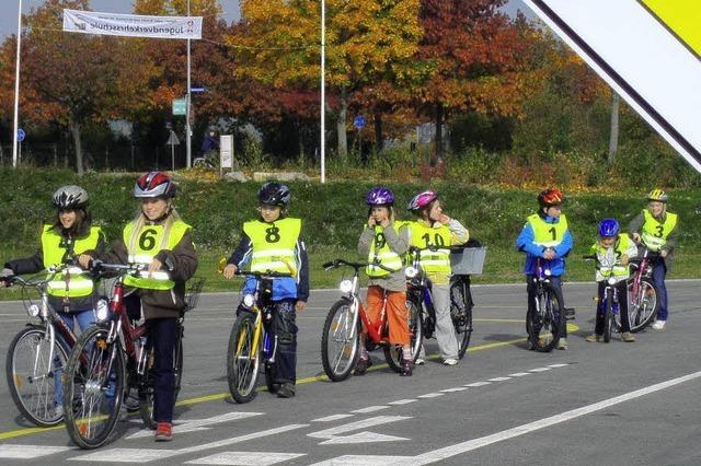 Richtiges Radfahren will gelernt sein