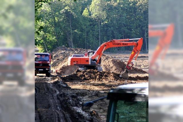 Damm-Bau läuft wieder auf vollen Touren