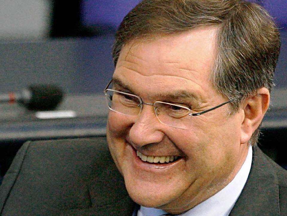Wird nicht in Kehl tafeln: Deutschlands Verteidigungsminister Franz-Josef Jung.   | Foto: dpa