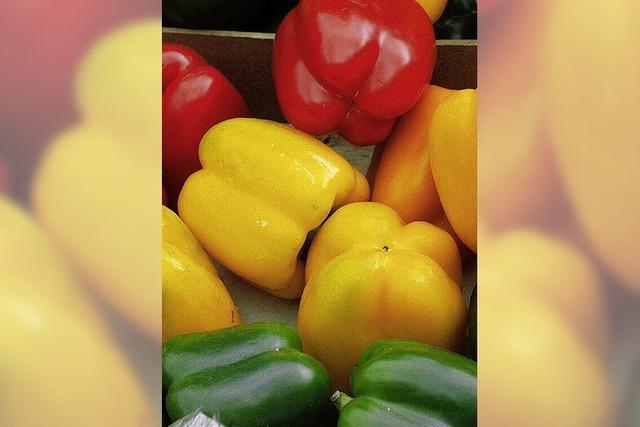 Unbedenkliches Gemüse aus dem Land