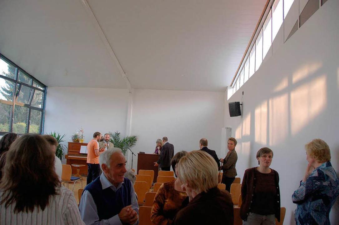 Eröffnung Gemeinderäume Christliche Gemeinde Maulburg  | Foto: Nicolai Kapitz