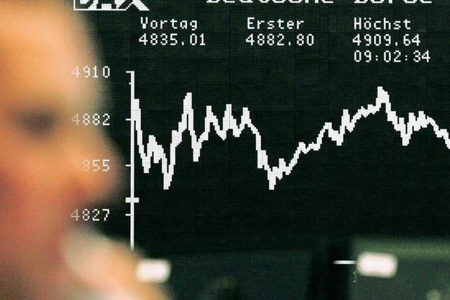 Tokioter Börse verhagelt Dax den Handelsstart