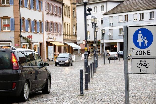 Weg ist frei für größere Fußgängerzone