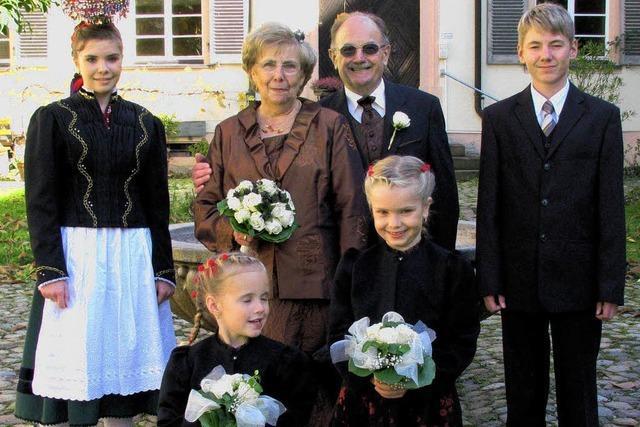 Fest der goldenen Hochzeit