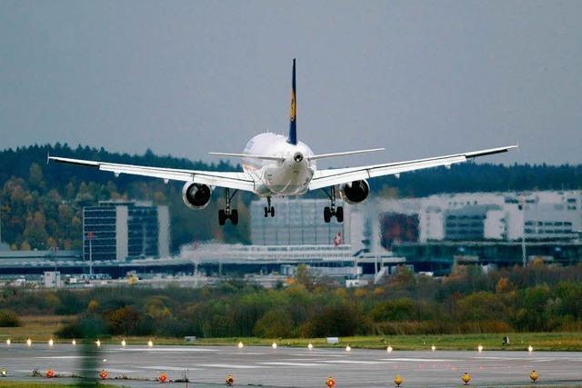 Flugzeug in Zürich abgestürzt