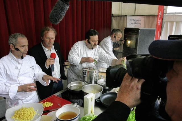 Da versinkt die Kamera im Kochtopf