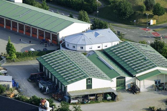 Martinshorn und Tenorhorn unter einem Dach